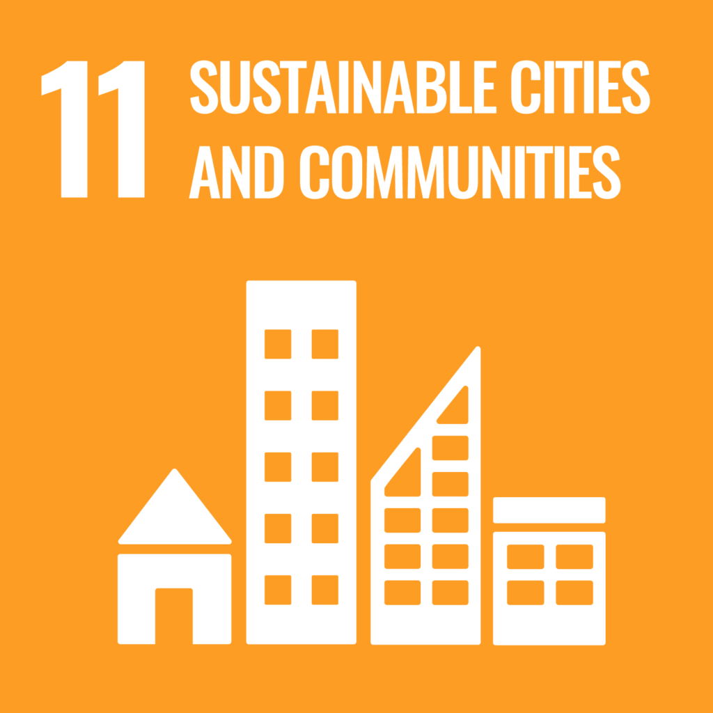 UN's sustainability goal 11, sustainable cities and communities