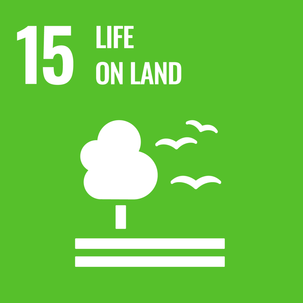 UN's sustainability goal 15, life on land