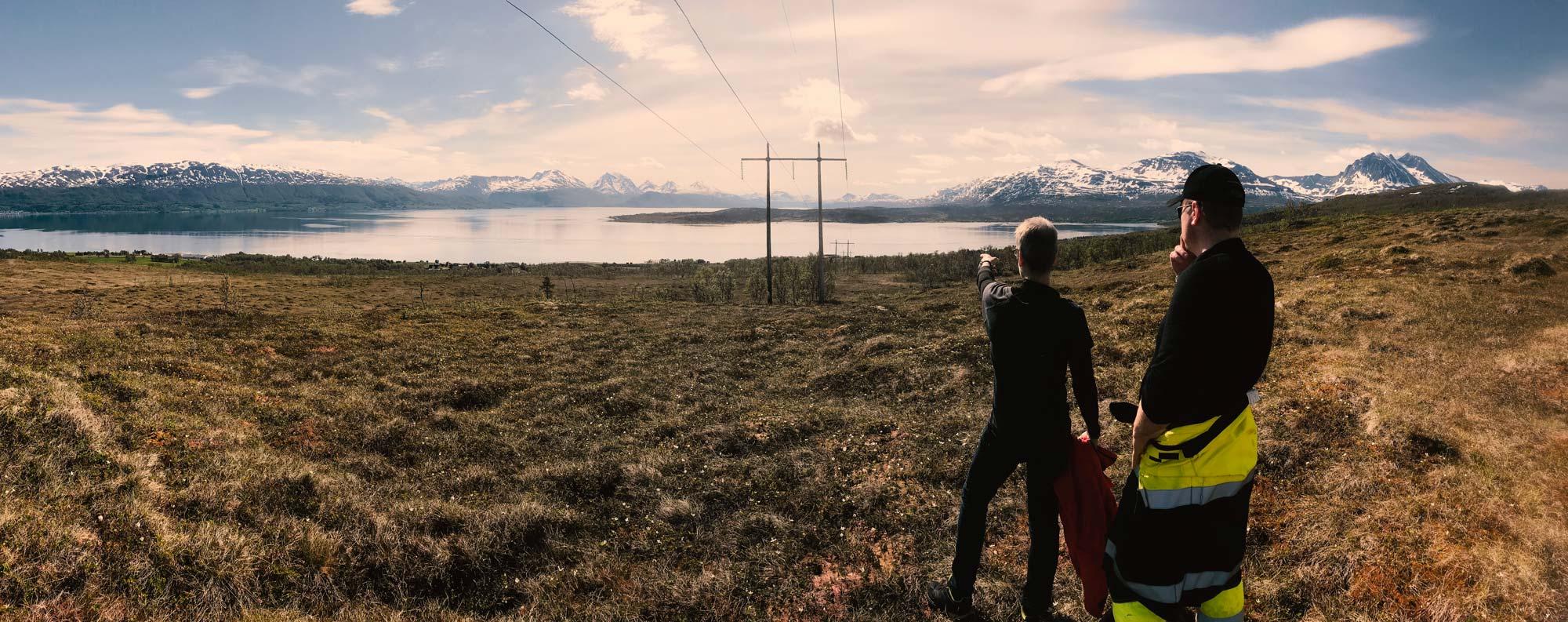 Field testing in Tromsø