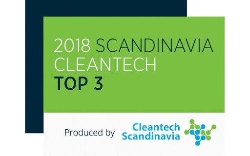 Top 3 in Cleantech Scandinvia